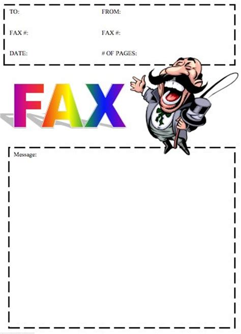 How to write fax letter